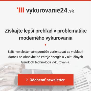 Newsletter Vykurovanie24.sk
